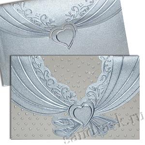 Свадебная пригласительная открытка TBZ 114670
