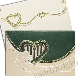Свадебная пригласительная открытка TBZ 114671