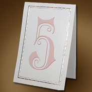 Карточка с номером стола 302006-3 айвори