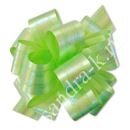 Бант-шар зеленый перламутровый 50П