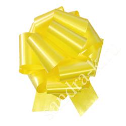 Бант-шар 32А однотонный желтый