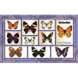 Наклейка бабочки 186-16