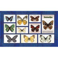 Наклейка бабочки 186-17