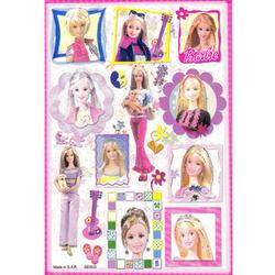 Наклейка Барби 580033