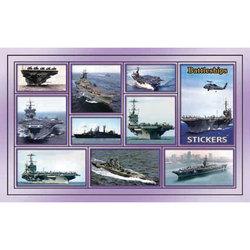 Наклейка корабли 188-14