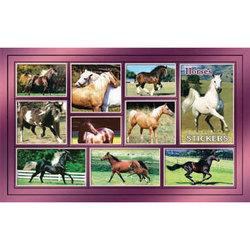 Наклейка лошади 187-02