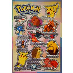 Наклейка Покемоны 110003