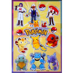 Наклейка Покемоны 110004