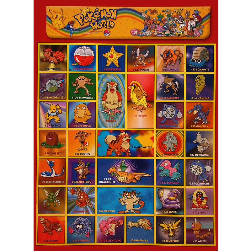 Наклейка Покемон 253401