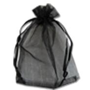 Мешочки из органзы  19-29 см черные