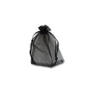 Мешочки из органзы 9-12 см черные