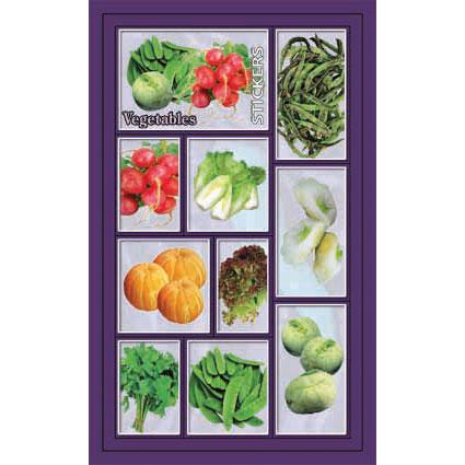 Наклейка овощи 186-06