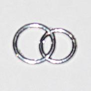 Декоративные обручальные колечки RW-02