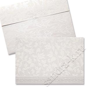 Бархатное свадебное приглашение 170055