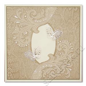 Открытка с бабочками 171004