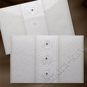 Свадебное приглашение со стразами 171045