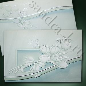 Свадебное приглашение с текстом 46509w