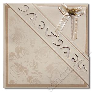 Подарочная открытка с фигурным конвертом 120012