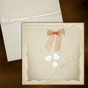 Подарочная открытка с колокольчиками 120026