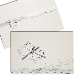 Свадебная пригласительная открытка TBZ 114573
