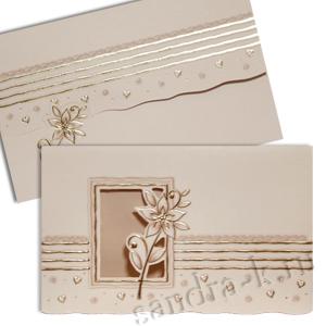 Свадебная пригласительная открытка TBZ 114665w