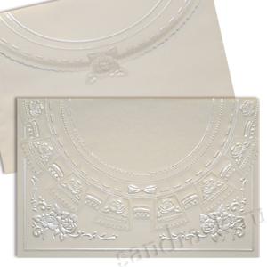 Свадебная пригласительная открытка TBZ 115410