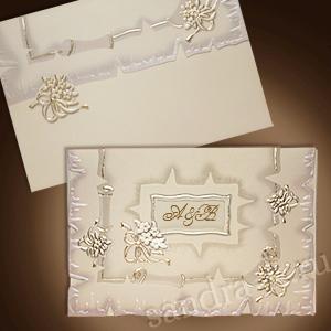 Свадебная пригласительная открытка TBZ 115441