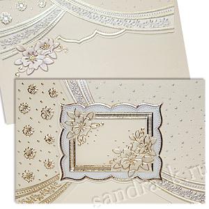 Свадебная пригласительная открытка TBZ 115444