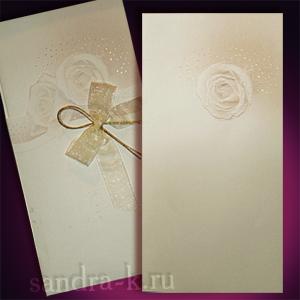 Подарочная открытка с розами 101769