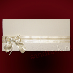 Подарочная открытка цвета ванили 101817