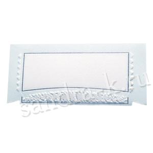 Банкетная карточка 20110 голубая