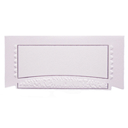Банкетная карточка 20114 бледно-розовая
