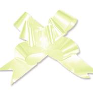 Бант-бабочка 15 мм перламутровый белый
