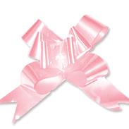 Бант-бабочка 12 мм перламутровый светло-розовый