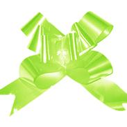 Бант-бабочка 15 мм перламутровый светло-зеленый