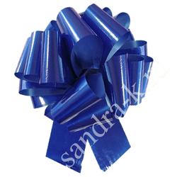 Бант-шар 65А однотонный синий