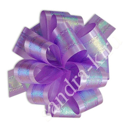 Бант-шар фиолетовый перламутровый 50П