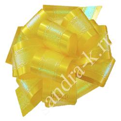 Бант-шар  32П перламутровый желтый