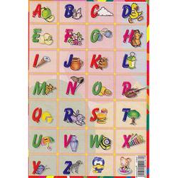 Наклейка английский алфавит 510087