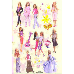Наклейка Барби 80780