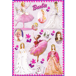 Наклейка Барби 80792