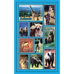 Наклейка дикие животные 187-09