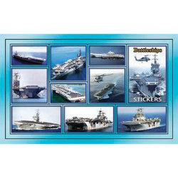 Наклейка корабли 188-13