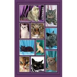 Наклейка кошки 187-21