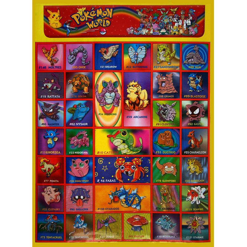 Наклейка Покемон 253404