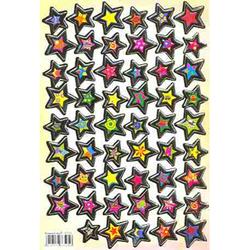 Наклейка звезды металл. 47005
