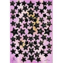 Наклейка звезды металл. 47220