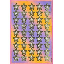 Наклейка звезды металл. 692168