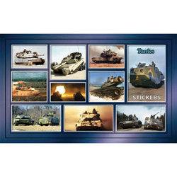 Наклейка танки 188-07