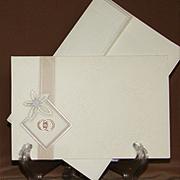 Свадебное приглашение с кольцами 171061-ok